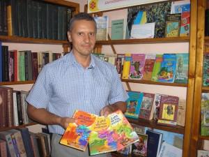 Сергій Гридін та його книги
