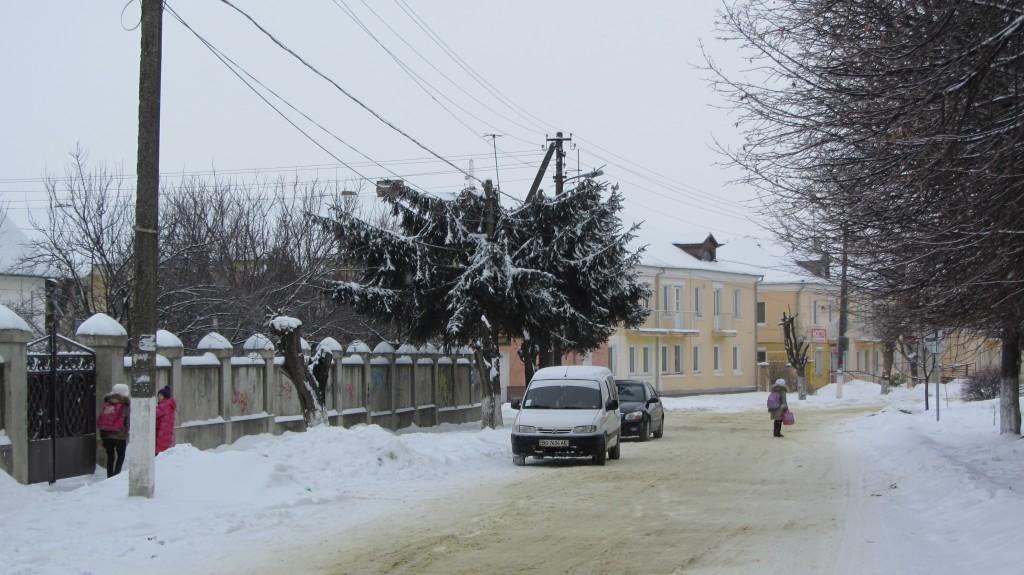 Безжалісні електрики Здолбунова і зрізані ялинки