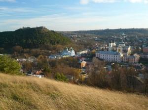 Альтернативне фото краєвиду чарівного міста Кременець