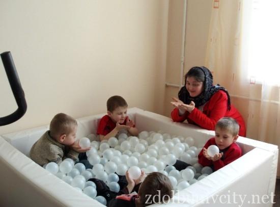Навчальн  каб нети обладнан  найсучасн шими засобами для корекц ї вад дитини
