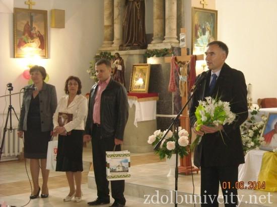 дитяче свято у здолбунівському костелі (2)