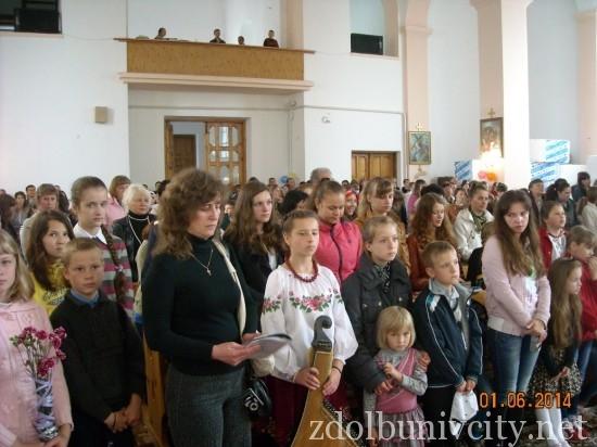 дитяче свято у костелі (2)
