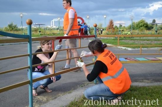 фарбування у гідропарку Здолбунова (12)