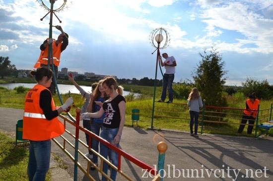 фарбування у гідропарку Здолбунова (14)