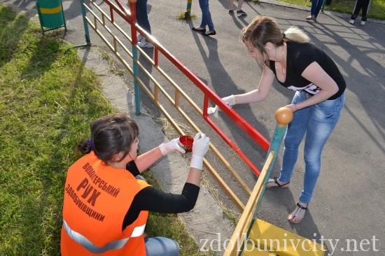 фарбування у гідропарку Здолбунова (18)