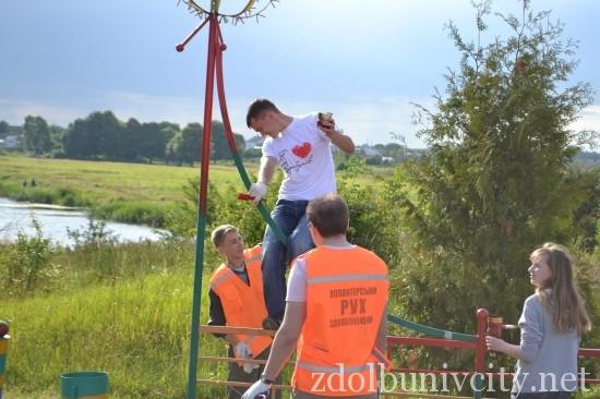 фарбування у гідропарку Здолбунова (21)