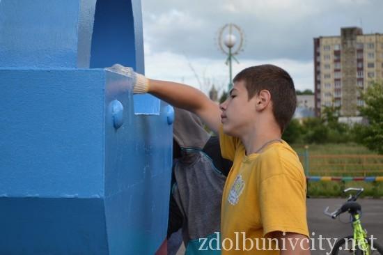 фарбування у гідропарку Здолбунова (24)