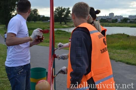 фарбування у гідропарку Здолбунова (27)