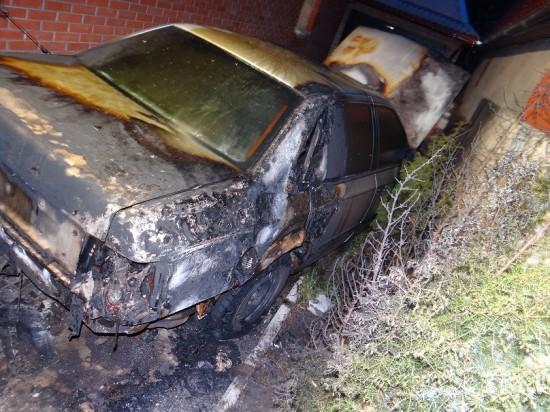 підпал авто у Здолбунові (2)