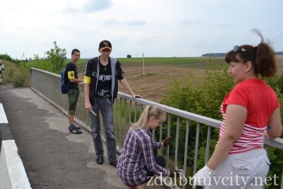 фарбування мосту у Здолбунові (7)
