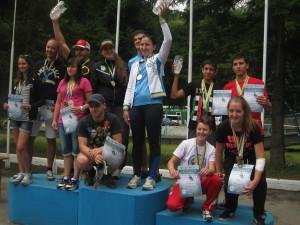 призери у командній гонці