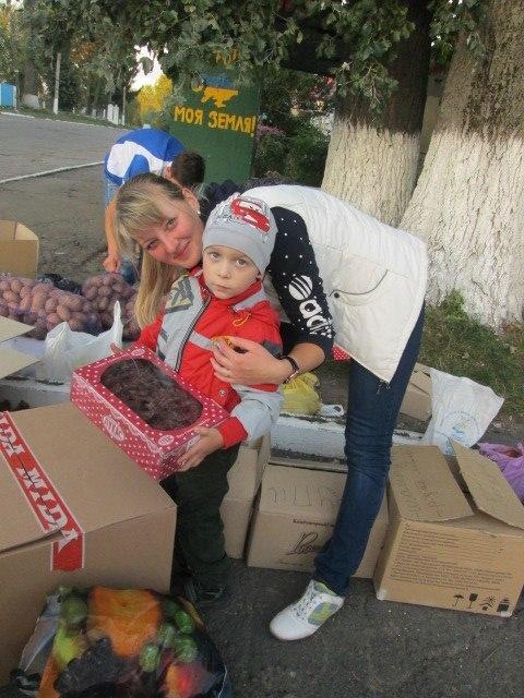 збір допомоги у Здовбиці (1)
