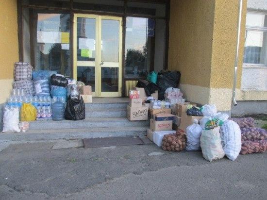 збір допомоги у Здовбиці (2)