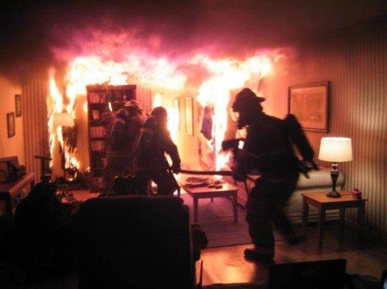піч пожежа