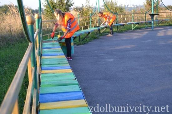 фарбування гідропарк Здолбунова (4)