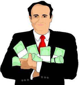гроші в руках