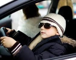 малолетка за рулем