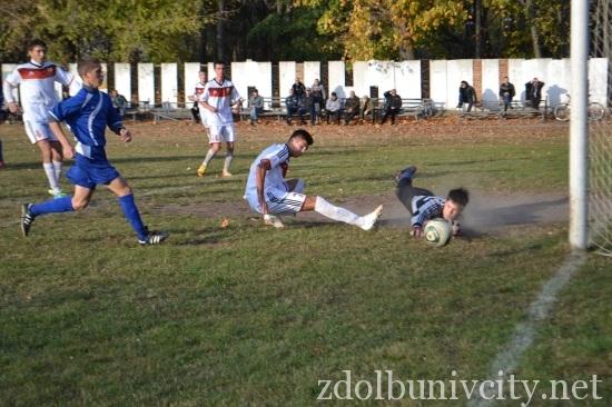 футбол у Здолбунові з малинськом (1)