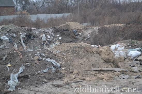 палять сміття у Здолбунові (2)