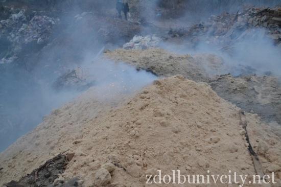 палять сміття у Здолбунові (4)