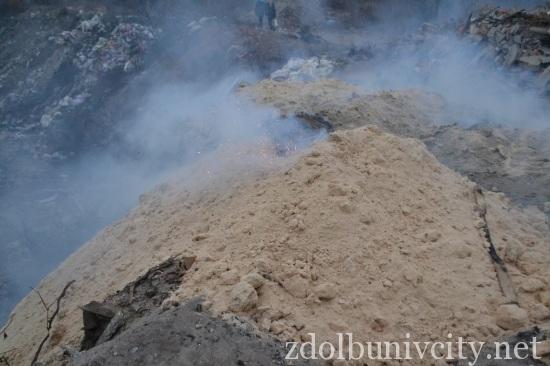 палять сміття у Здолбунові (5)