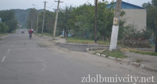 ремонт доріг у Здолбунові (1)