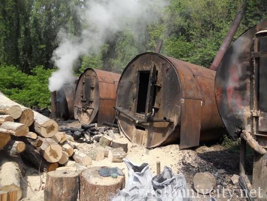 випалювання вугілля на Здолбунівщині (11)