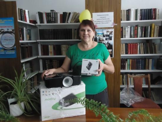 обладнання для бібліотеки