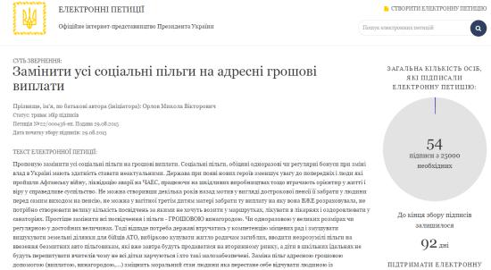 петиція_адресна допомога