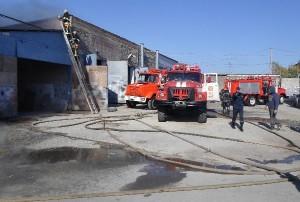 пожежа в гаражі