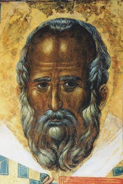 Ікона з Базиліки св. Миколая в м Барі (Італія), яка як вважається, була написана на основі прижиттєвого зображення святого.