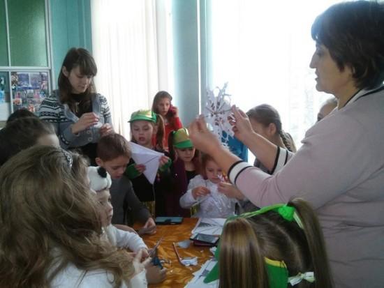 Новорічний ранок для дітей