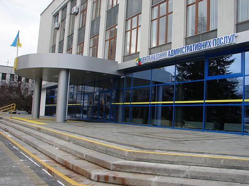 """За реконструкцію будівлі на майдані Просвіти у Рівному під ЦНАП ТзОВ """"Фiрма Опорядрембуд"""" отримала вже більше 5 млн. грн."""