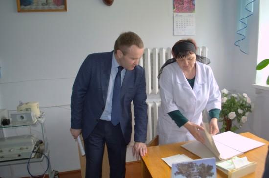 Олександр Корнійчук з робочою поїздкою побував на Здолбунівщині