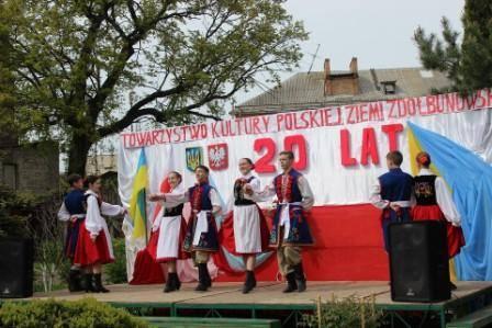 Товариство польської культури Здолбунівщини відзначило 20-тиріччя