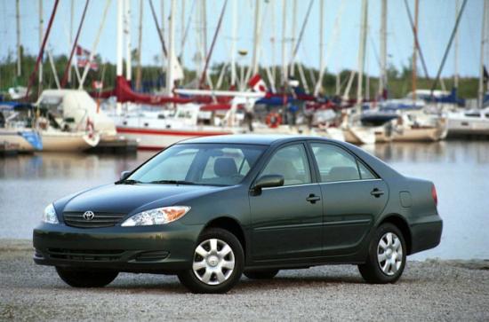 2002 Toyota Camry green