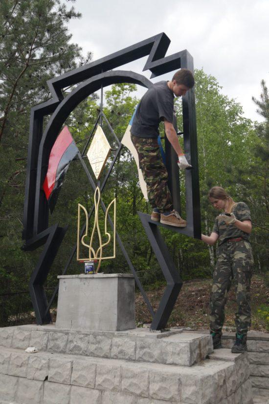 Молодь відреставрувала штаб-музей УПА