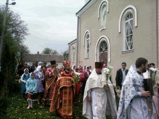 Святкування престольного празника у селі Кунин у 2015році