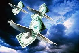 гроші відлітають
