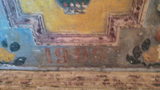 с. Стеблівка скриня 1909 року